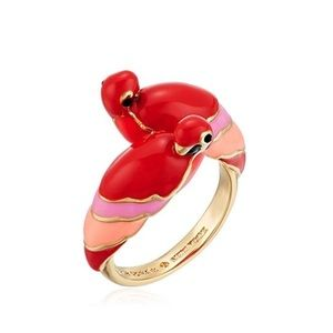 Kate Spade • Out Of The Office Parrot Ring